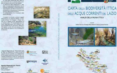 Carta della biodiversità ittica delle acque correnti del Lazio
